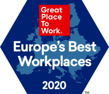 Great Place to Work, Europe's Best Workplaces, 2020